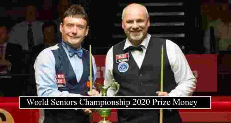 World Seniors Championship 2020 Prize