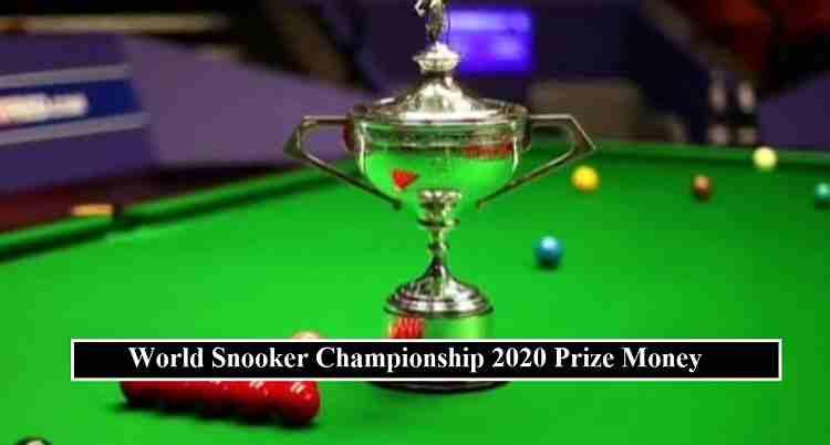 World Snooker Championship Prize