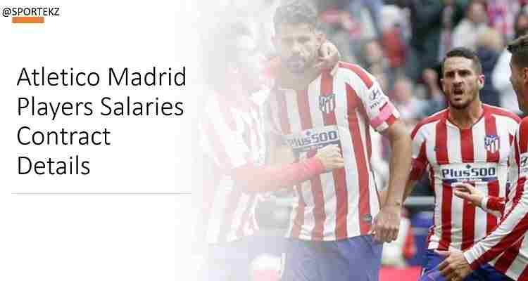 Atletico Madrid Players Salaries