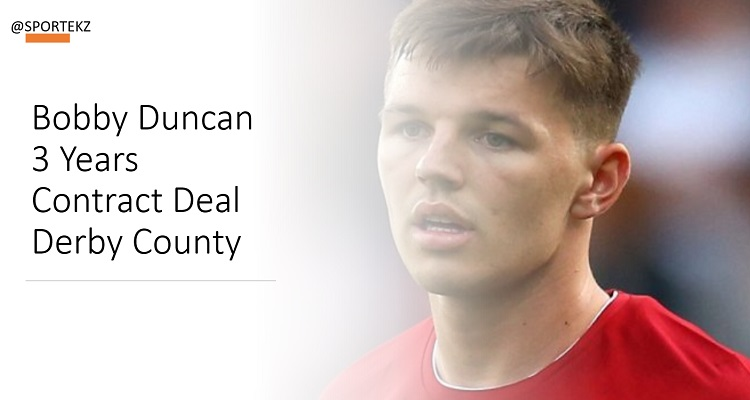 Bobby Duncan Contract Deal