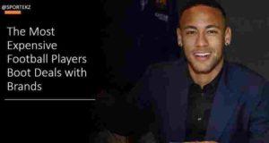Expensive Footballers Boot Deals