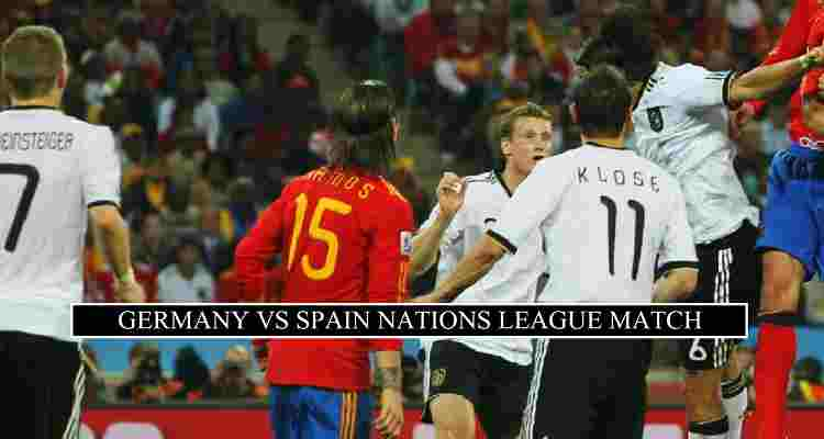 Germany Vs Spain Live Stream Nations League Free Tv Channels