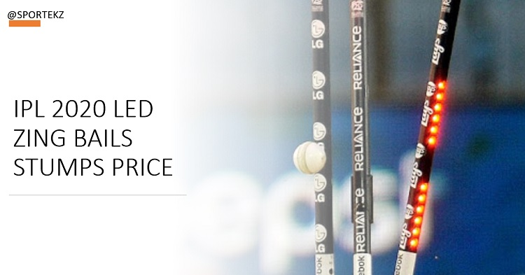 IPL Bails Stumps Price
