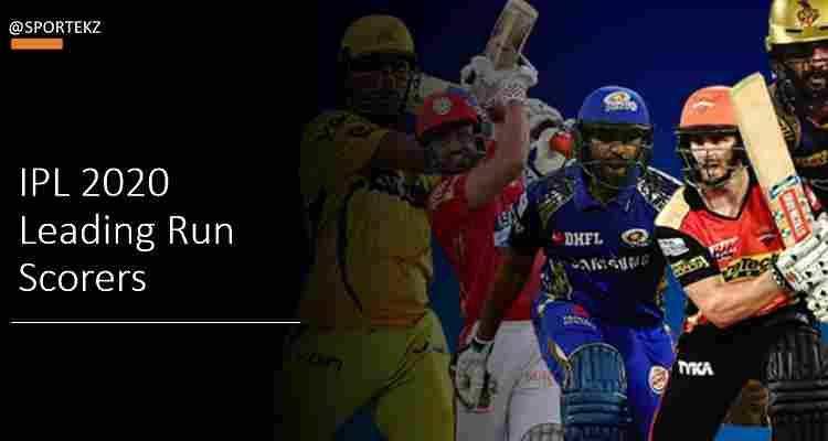 IPL 2020 Leading Scorers