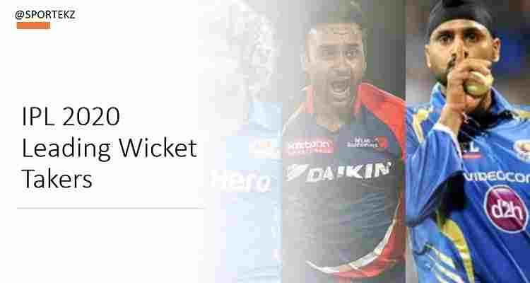 IPL 2020 Most Wickets Takers