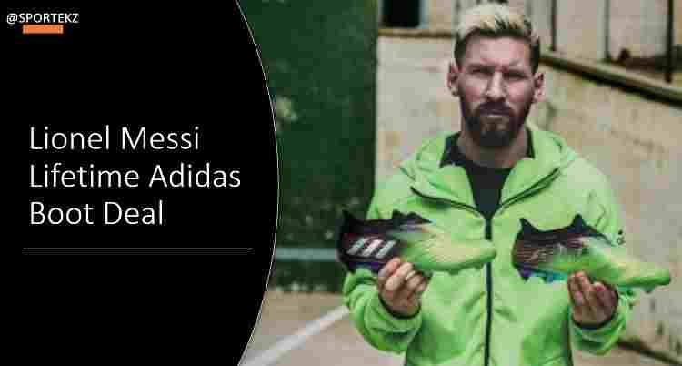 Lionel Messi Deal Adidas
