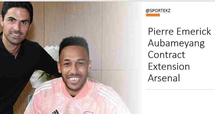 Aubameyang contract extension