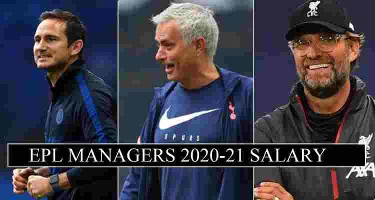 Premier League Managers Salaries