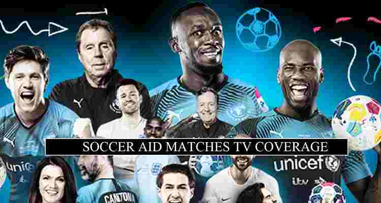 Soccer Aid Live Stream England Xi Vs World Xi Free Tv Channels 2020