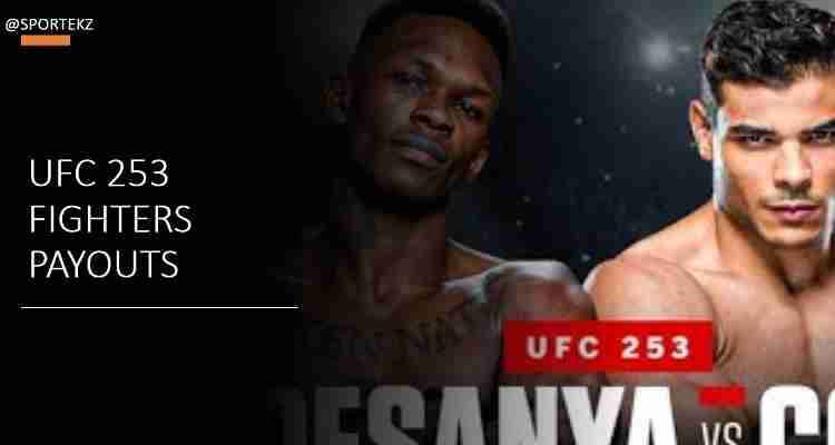UFC 253 Salaries