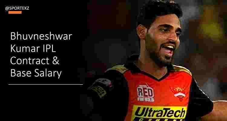 Bhuvneshwar Kumar IPL Contract