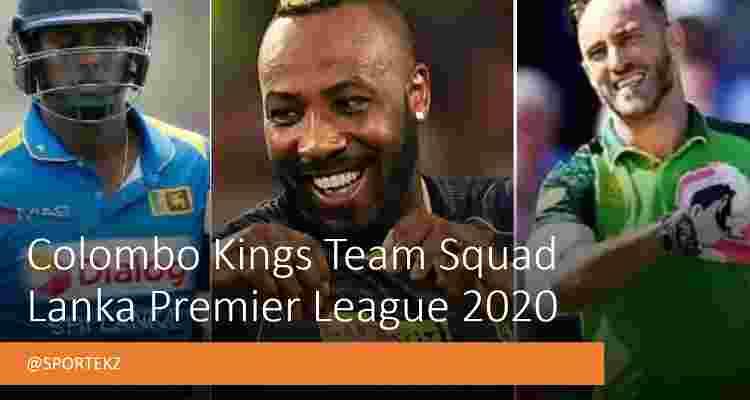 Colombo Kings LPL Squad