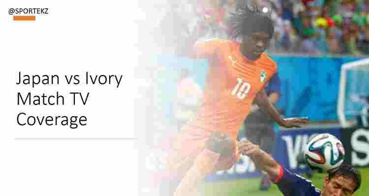 Japan Ivory Coast friendly Stream