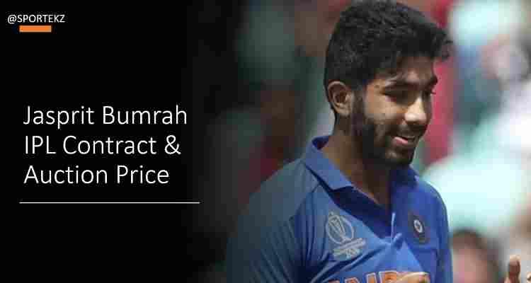 Jasprit Bumrah IPL Contract