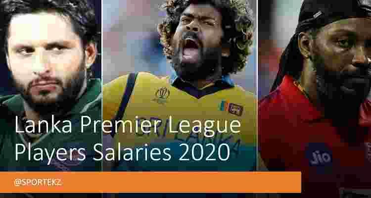 Lanka Premier 2020 Salaries