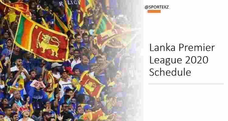 Lanka League 2020 Schedule