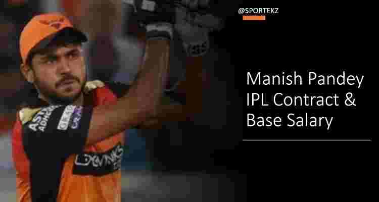 Manish Pandey IPL Contract