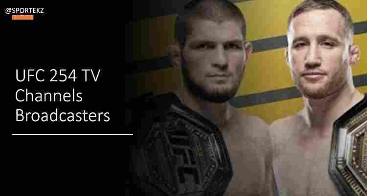 UFC 254 Stream