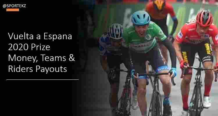 Vuelta a Espana 2020 Prize