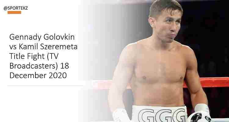 Gennady Golovkin Szeremeta Stream