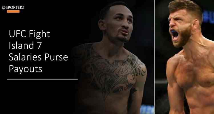 UFC Fight Island 7 Salaries