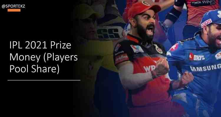 IPL 2021 Prize Money