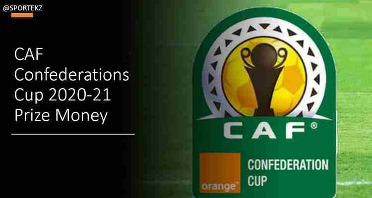 Confederations Cup 2021 prize