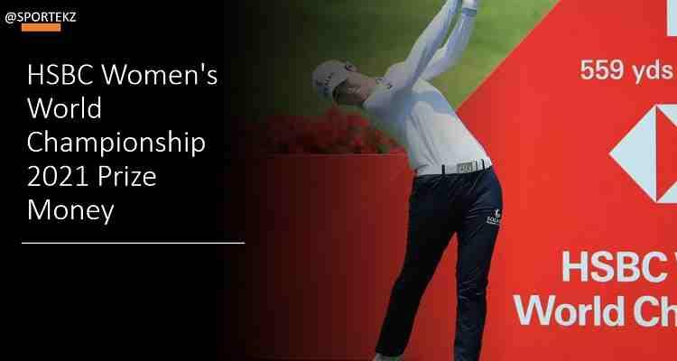 Women's Championship 2021 Prize