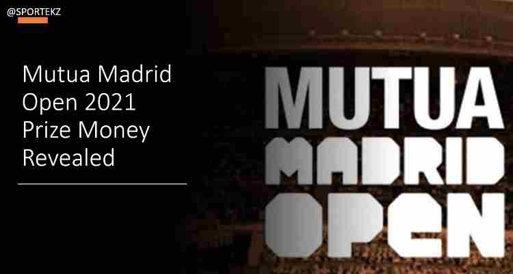 Madrid Open 2021 Prize