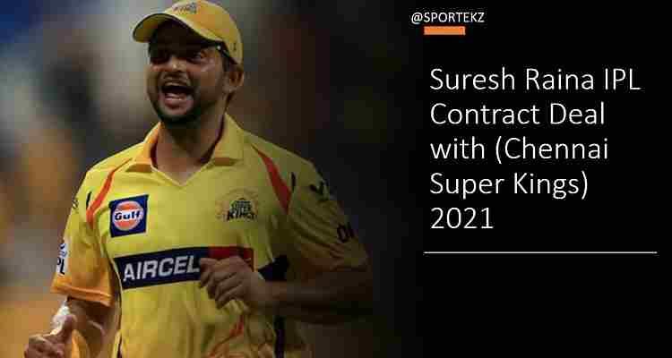 Suresh Raina Contract Deal