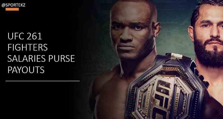 UFC 261 Salaries