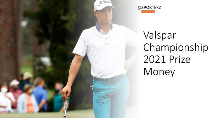 Valspar Championship 2021 Prize