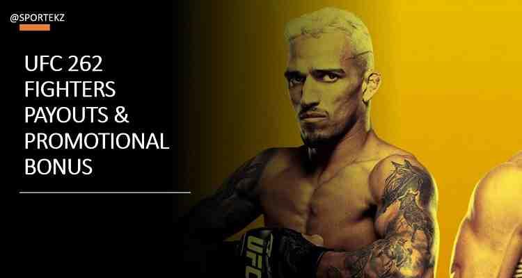 UFC 262 Salaries