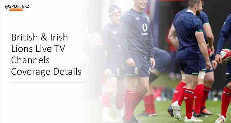British Irish Lions Live Stream