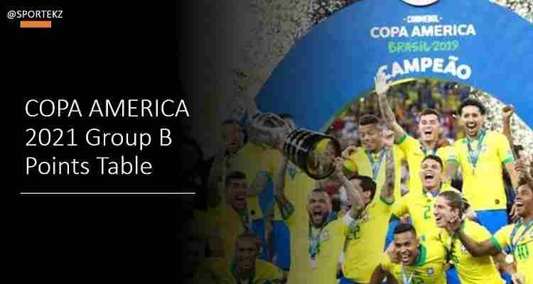 Copa America 2021 Group B