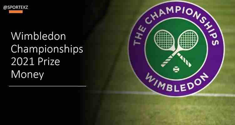 Wimbledon 2021 prize money