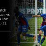 Crystal Palace Tottenham Stream